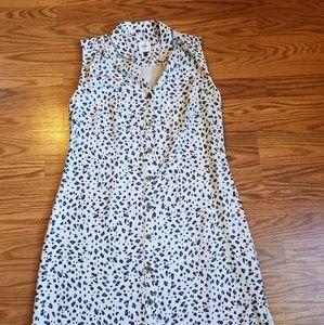 Womens CAbi sleeveless dress Sz XXS